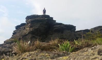A trek to the Vozka Mountain